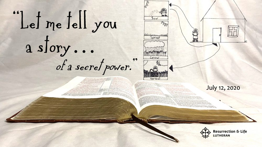 Let Me Tell You a Story of a Secret Power