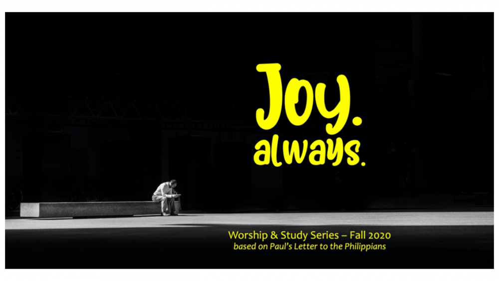 Joy. Always.